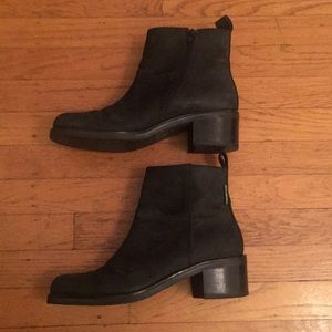 Russell & Bromley Black Leather Boots.